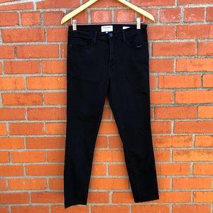 FRAME Le High skinny jeans in Film Noir | 30